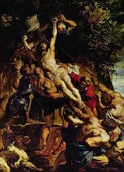 ルーベンス「キリスト昇架」