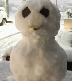 雪かき、やり直しかな?