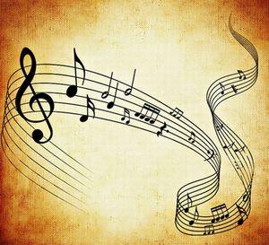 音楽を聴きながら